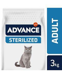 Advance Sterilized Chat à la dinde 3 kg - La Compagnie des Animaux