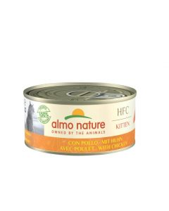 Almo Nature Chat HFC Natural Kitten Poulet 24 x 150 grs