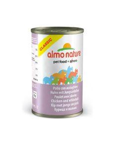 Almo Nature Chat Classic Poulet avec Alevins 24 x 140 grs