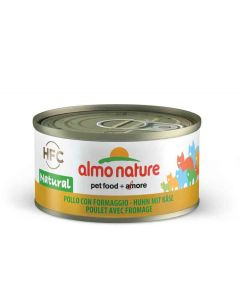 Almo Nature Chat HFC Poulet avec Fromage 24 x 70 grs