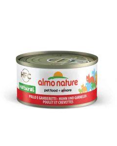 Almo Nature Chat HFC Poulet et crevettes 24 x 70 grs