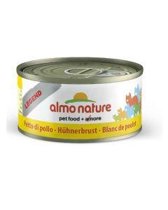Almo Nature Chat Legend Blanc de poulet 6 x 70 grs - La compagnie des animaux