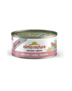Almo Nature Chat Legend Saumon 6 x 70 grs - La compagnie des animaux