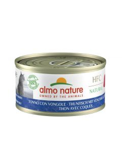 Almo Nature Chat Natural HFC Thon avec Coques 24 x 70 grs