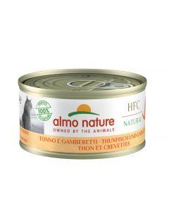 Almo Nature Chat HFC Thon avec crevettes 24 x 70 grs