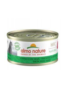 Almo Nature Chat HFC Thon avec maïs 24 x 70 grs