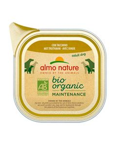 Almo Nature Chien Bio Organic Maintenance dinde 32 x 100 grs
