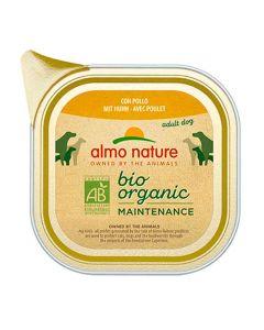 Almo Nature Chien Bio Organic Maintenance poulet 32 x 100 grs