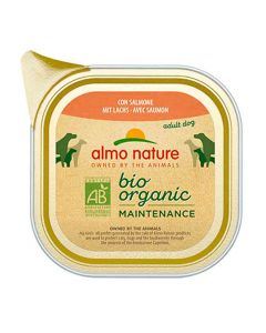 Almo Nature Chien Bio Organic Maintenance Saumon 32 x 100 grs