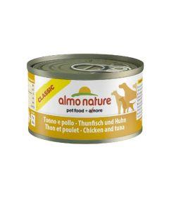 Almo Nature Chien Classic Thon et poulet 24 x 95 grs