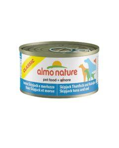 Almo Nature Chien Classic Thon Skipjack et Morue 24 x 95 grs