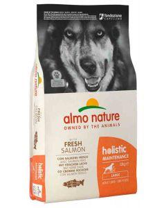Almo Nature Holistic Chien Adult Large Saumon frais 12 kg