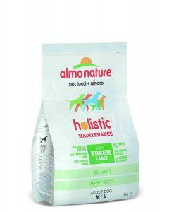 Almo Nature Chien Holistic Medium Agneau et riz 2 kg- La Compagnie des Animaux