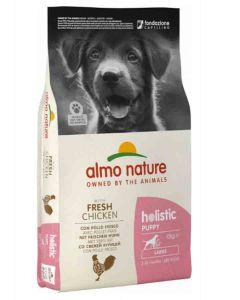 Almo Nature Chien Holistic Large Puppy Poulet et riz 12 kg- La Compagnie des Animaux