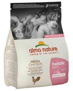 Almo Nature Chien Holistic Small Puppy Poulet et riz 2 kg- La Compagnie des Animaux