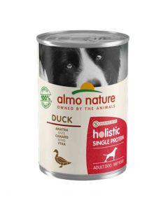 Almo Nature Chien Holistic Single Protein Digestion au canard 24 x 400 g