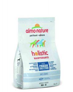 Almo Nature Chien Holistic Small Poissons Bleu et riz 2 kg- La Compagnie des Animaux