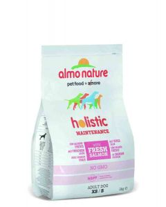 Almo Nature Chien Holistic Small Saumon et riz 2 kg- La Compagnie des Animaux