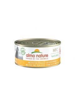 Almo Nature Chat Classic Blanc de Poulet 24 x 140 grs - La compagnie des animaux