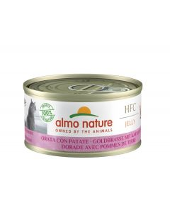 Almo Nature Chat Light HFC Dorade et Pomme de Terre 24 x 70 grs