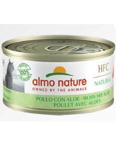 Almo Nature Chat HFC Natural Poulet et Aloe 24 x 70 g