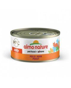 Almo Nature Chat Jelly HFC Poulet 24 x 70 grs - La Compagnie des Animaux