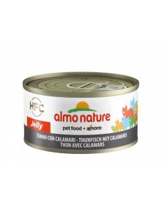 Almo Nature Chat Jelly HFC Thon avec calamars 24 x 70 grs