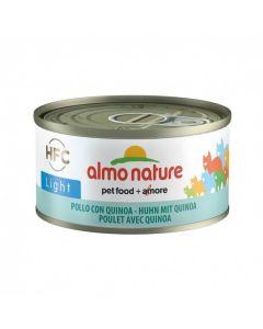 Almo Nature Chat Light HFC Poulet et Quinoa 24 x 70 grs - La Compagnie des Animaux