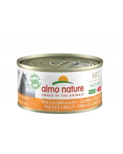 Almo Nature Chat Natural HFC Sans Céréales Made In Italy Poulet Grillé 24 x 70 g