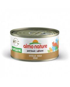 Almo Nature Chat Natural HFC Veau 24 x 70 grs - La Compagnie des Animaux