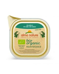 Almo Nature Chien Bio Organic Maintenance agneau 9 x 300 grs