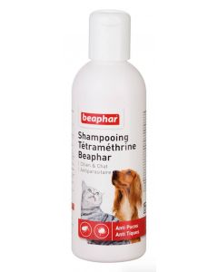Beaphar shampooing antiparasitaire pour chien et chat