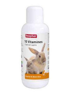 Beaphar 10 Vitamines pour lapin 100 ml- La Compagnie des Animaux