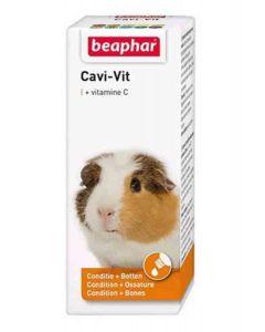 Beaphar CAVI-VIT vitamine C pour rongeurs 20 ml - La Compagnie des Animaux