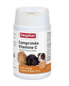 Beaphar Comprimés de vitamine C pour cobaye 100 cps- La Compagnie des Animaux