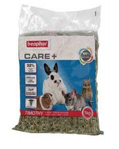 Beaphar Foin de Phléoles « Timothy Hay » Care+ 1 kg- La Compagnie des Animaux