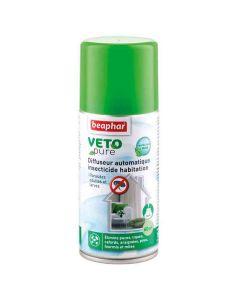Beaphar VETOpure Diffuseur automatique insecticide habitation 200 ml (70 m²)- La Compagnie des Animaux
