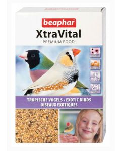 Beaphar XtraVital oiseaux exotiques 500 g- La Compagnie des Animaux
