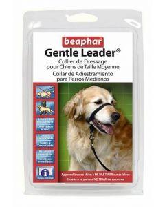 Beaphar Gentle Leader collier de dressage moyen chien - La Compagnie des Animaux
