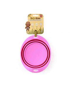 Beco Pets Bol de voyage rose L- La Compagnie des Animaux