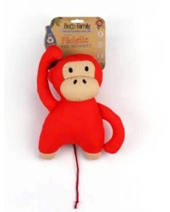 Beco Pets Peluche Michelle le singe pour chien 19 cm- La Compagnie des Animaux