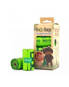 Beco Pets sacs à crottes vert 120 sacs- La Compagnie des Animaux