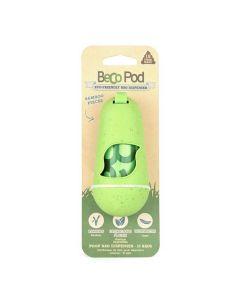 Beco Pod Distributeur sacs à crottes vert - La Compagnie des Animaux