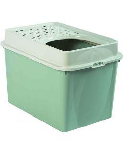 Berty Cat Toilet Top Rotho Mypet Vert Menthe - La Compagnie des Animaux