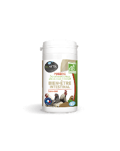 Biovetol Poudre Bien-être Intestinal basse-cour 40 g - La Compagnie des Animaux