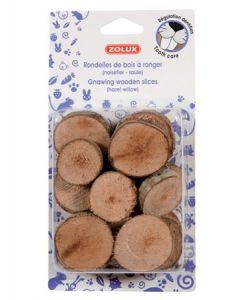 Rondelles de bois à ronger Zolux