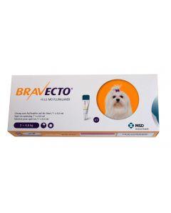 Bravecto Spot-On Chien moyen 2-4,5 kg 1 pipette- La Compagnie des Animaux