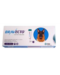 Bravecto Spot-On Chien moyen 20-40 kg 1 pipette- La Compagnie des Animaux