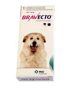 Bravecto Très grand chien 40 à 56 kg 1 comprimé- La Compagnie des Animaux