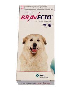 Bravecto Très grand chien 40 à 56 kg 2 Cps- La Compagnie des Animaux